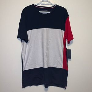 🇲🇹 Tommy Hilfiger Patchwork Cotton Tee MENS L